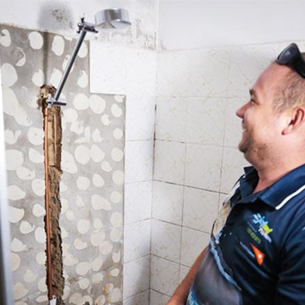 Leaking Shower Kedron